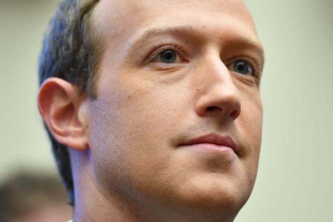 Mark Zuckerberg, le PDG de Facebook, le 23 octobre 2019.