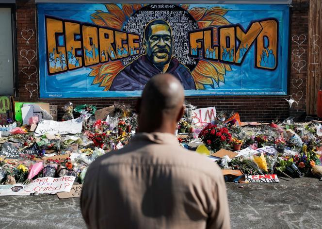 Hommage à George Floyd, à Minneapolis (Minnesota), le 1er juin.