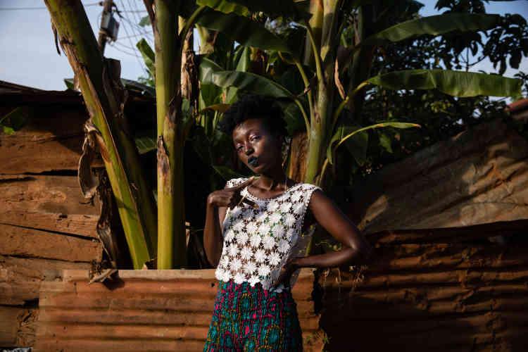 «On échange nos morceaux, on en fait parfois des remix. La petite communauté est assez collaborative», résume l'artiste multimédia Decay, de son vrai nom Darlyne Komukama.