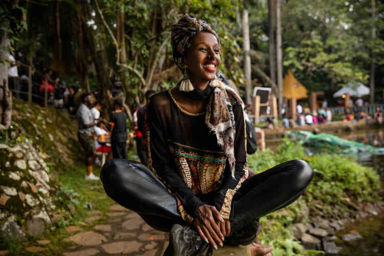 La DJ, cinéaste et productrice somalienne Hibotep.