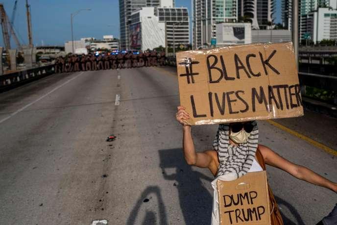 Manifestation à Miami, en Floride, le 31mai.