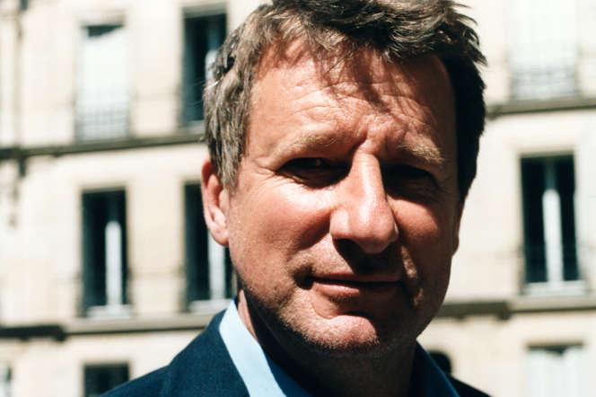 Yannick Jadot, à Paris, le26mai.