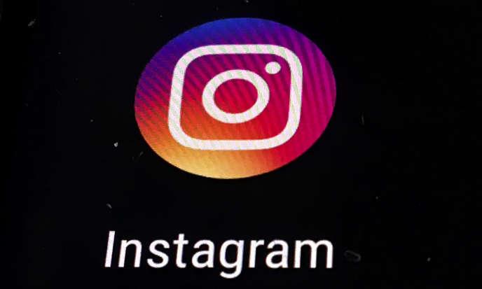 Le logo d'Instagram, pris en photo le 29 novembre 2018.