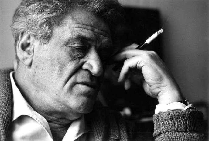 L'écrivain Joseph Kessel, à Paris, en 1966.