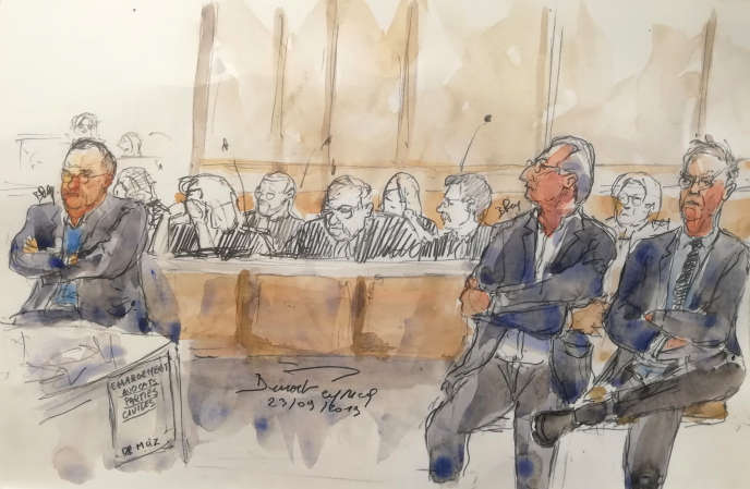 Au procès du Mediator, à Paris, le 23 septembre 2019.