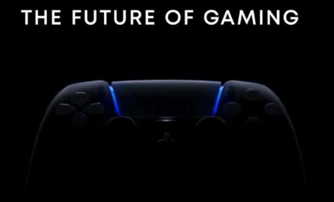 Image promotionnelle qui annonçait la conférence de Sony,prévue le 4 juin, à propos de la PlayStation5.