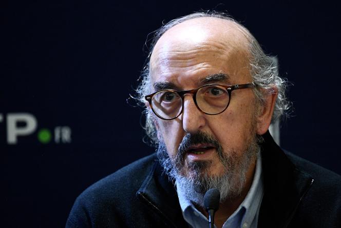 Le patron du groupe espagnol Mediapro, Jaume Roures, lors d'une conférence de presse à Paris, en décembre 2019.