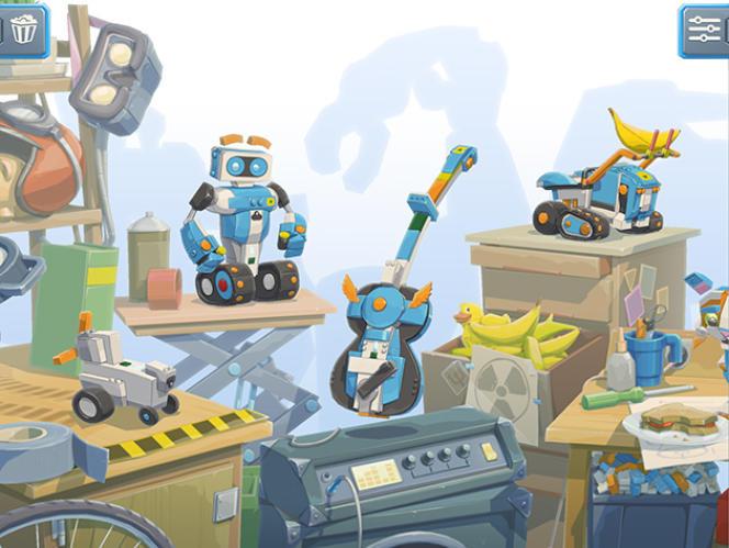 L'application Lego Boost associe simultanément montage et codage en une initiation facile à suivre.