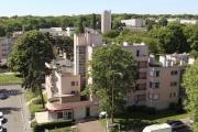 Le quartier de la Butte-Rouge à Châtenay-Malabry (Hauts-de-Seine).