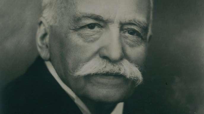 Portrait d'Auguste Escoffier.