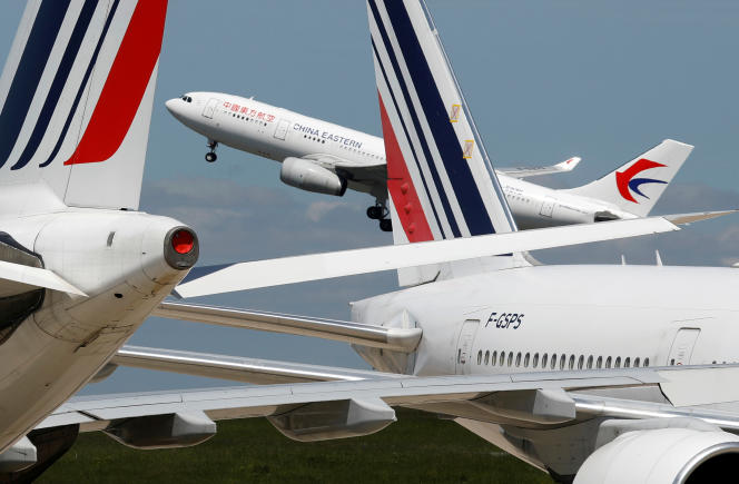 A l'aéroport de Roissy-Charles de Gaulle, le 19 mai.