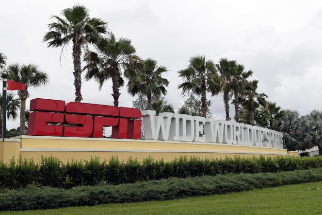 Le stade ESPN de Walt Disney World, en Floride, le 3 juin.