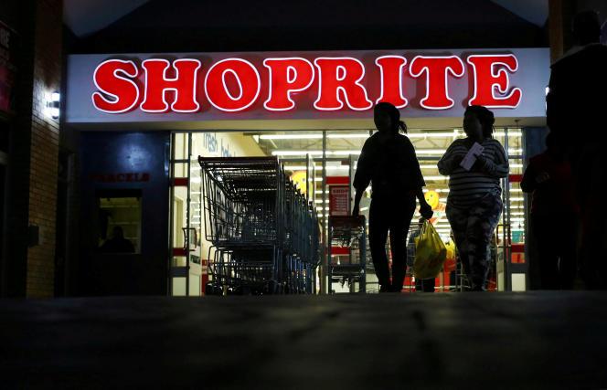 Un magasin Shoprite à Daveyton, en Afrique du Sud, le 23mai 2018.