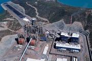 L'usine métallurgique Koniambo Nickel SAS à Voh (Nouvelle-Calédonie), en septembre 2015.
