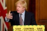 Le premier ministre britannique, Boris Johnson, à Londres, le 3 juin 2020.