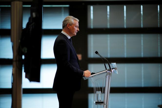 Le ministre de l'économie et des finances, Bruno Le Maire, à Paris, le 4 juin.