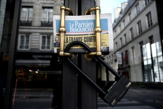 A Paris, le 14 mars.