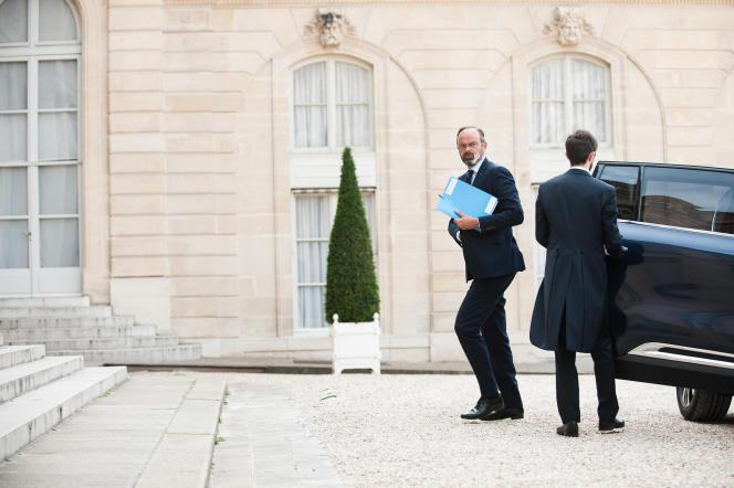 Le premier ministre, Edouard Philippe, le 3 juin à l'Elysée.