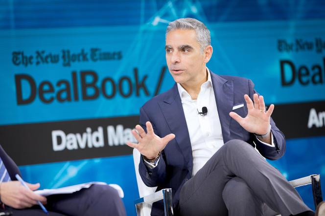 David Marcus, directeur de Novi (ex-Calibra), à New York, le 6 novembre 2019.