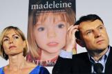 Kate et Gerry McCann lors du lancement du livre de Kate McCann « Madeleine», le 12mai2011, à Londres.