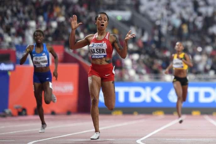 Aux championnats du monde d'athlétisme, à Doha, le 3 octobre 2019, avait signé latroisième meilleure performance de tous les temps sur le 400 m.