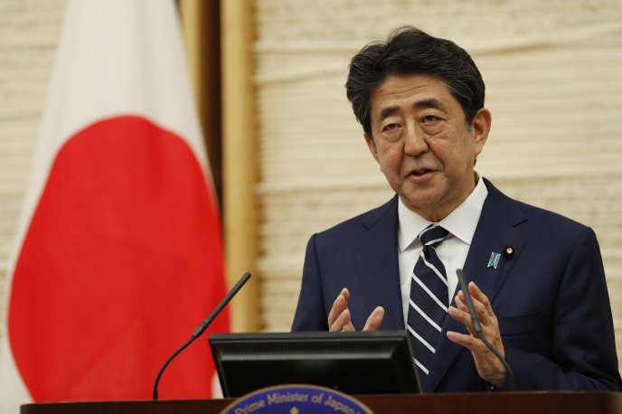 Le premier ministre Shinzo Abe à Tokyo, le 25 mai.