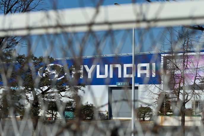 Usine Hyundai à Séoul, le 10 février 2020.