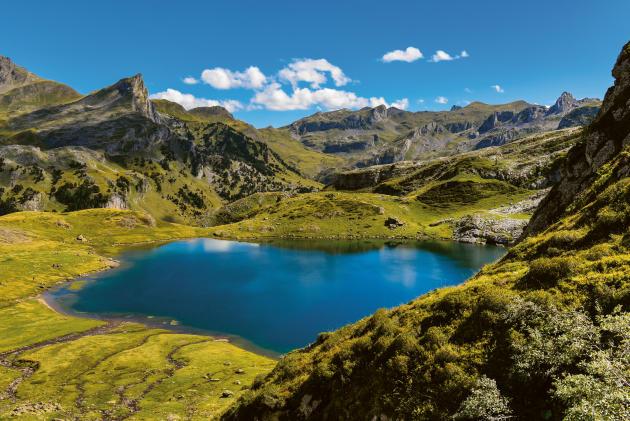 Le lac Ayous, dans les Pyrénées.
