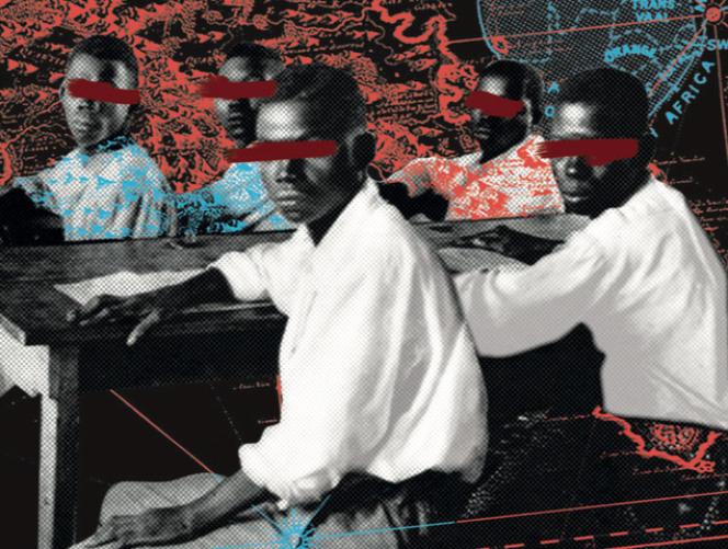 Illustration de la couverture du livre« Le Dérangeur, petit lexique en voie de décolonisation», du Collectif Piment, aux éditions Hors d'Atteinte (2020).