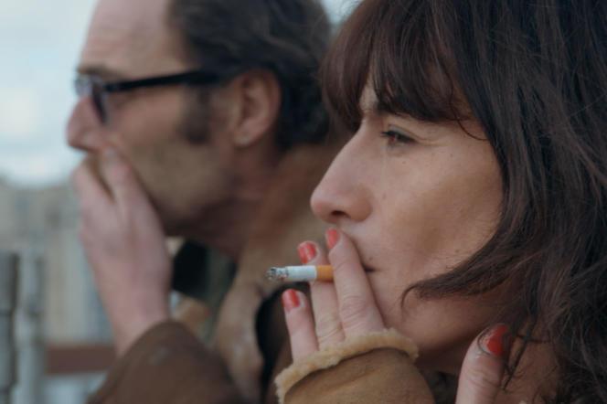 Philippe Rebbot et Romane Bohringer dans« L'Amour flou».
