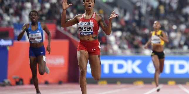 Athlétisme: Salwa Eid Naser provisoirement suspendue pour trois absences à des contrôles antidopage