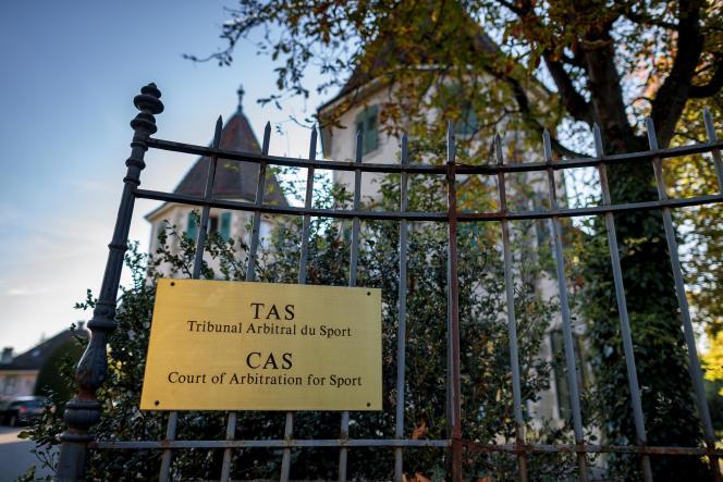 Logé dans le Château de Béthusy, monument historique du centre-ville de Lausanne, le Tribunal arbitral du sport (TAS) déménagera plus haut dans la ville olympique, fin 2021.