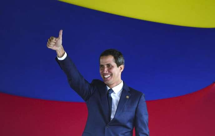 Juan Guaido, le 23 juillet 2019, à Caracas.