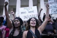 Manifestation contre les violences policières, à Marseille, samedi 6 juin.