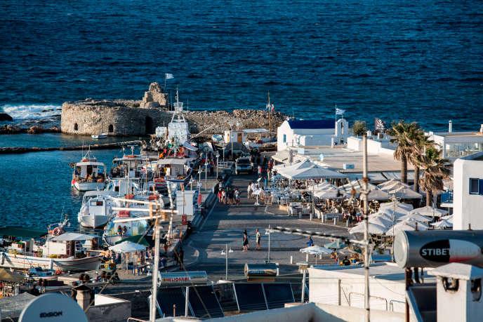 L'île de Paros, dans les Cyclades, en 2015.