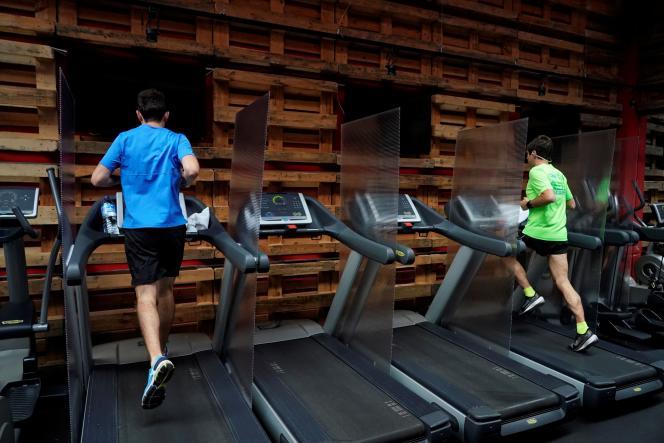 Les Madrilènes ont pu retrouver leurs salles de sport, lundi 8 juin.