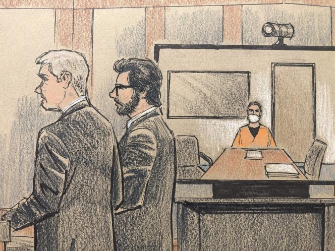Derek Chauvin, le policier responsable de la mort de George Floyd, a comparu pour la première fois devant la justice américaine, lundi 8 juin, de la prison d'Oak Park Heights (Minnesota), par écran interposé.