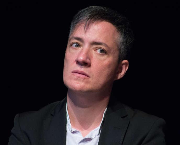 Le philosophe Paul B. Preciado à la Documenta, à Kassel, en 2017.