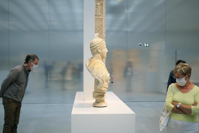 Au musée du Louvre-Lens (Pas-de-Calais), le 3 juin.