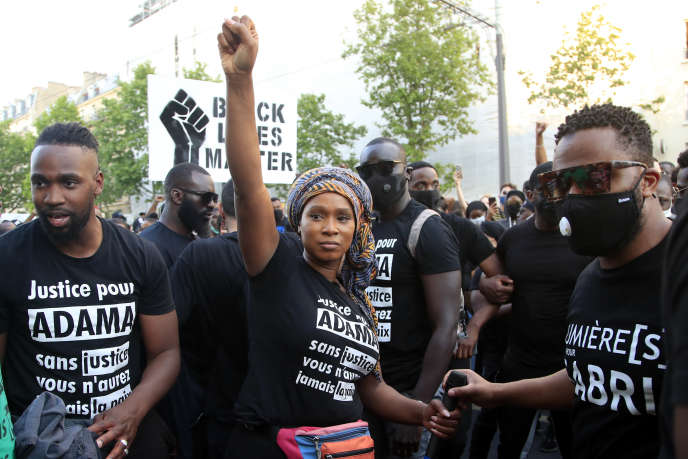 how the Adama Committee succeeded in a shock mobilization towards police violence