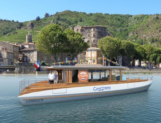 Départ de la ville de Tournon-sur-Rhône à partir du 14 juillet et jusqu'au 17 septembre.
