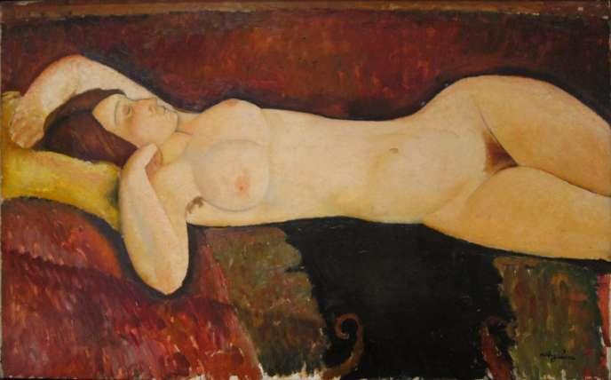 « Le Grand Nu» (1917), de Modigliani.