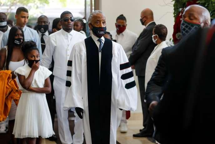 Comme lors d'un premier hommage à Minneapolis, jeudi, le sermon sera prononcé par le révérend Al Sharpton, figure de la défense des droits civiques.