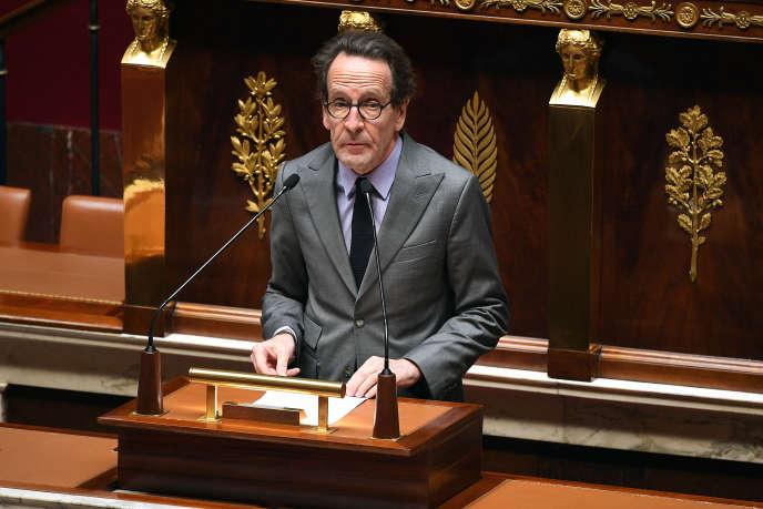 Gilles Le Gendre, patron du groupe La République en marche, à l'Assemblée nationale, le 28 avril.