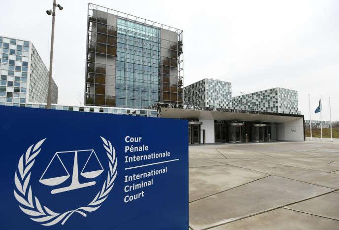 La Cour pénale internationale à La Haye, en janvier 2019.