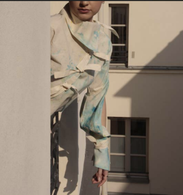 Travail de Deniss Mirea, étudiant en première année BFA Fashion Design, à l'école Parsons