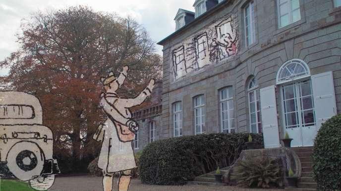 Premier retour à la maison pour le soldat Arnaud de Roquefeuil.
