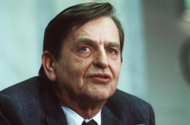 Le premier ministre suédois Olof Palme à Stockholm, le 12 décembre 1983.