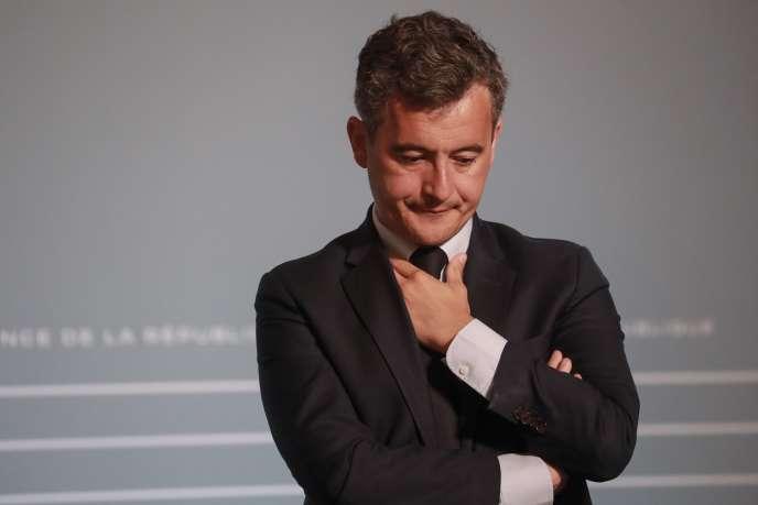 Le ministre de l'action et des comptes publics, Gérald Darmanin, le 10 juin 2020 à Paris.