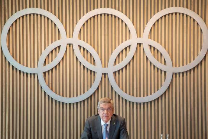 «Jamais nous n'avons eu à organiser des Jeux olympiques reportés, donc il n'y a pas de plan pour cette tâche gigantesque», a expliqué le président du CIO, ThomasBach.